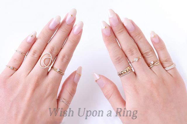指先からパワーを。つける指で変わる意味。