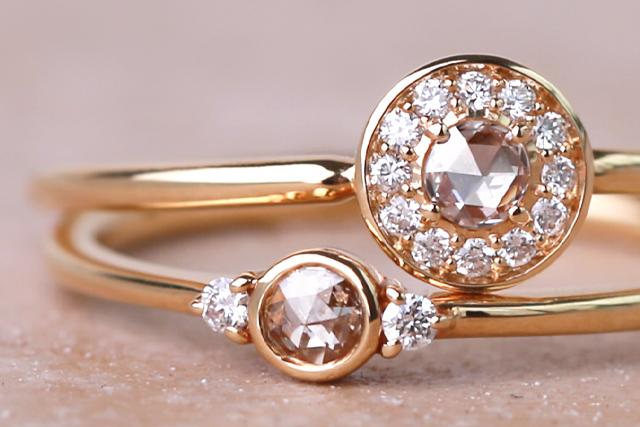 みずみずしく輝く『ローズカットダイヤ』とは?