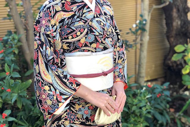 母の大切な着物