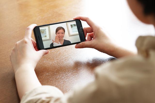 <テレビ電話接客>ご自宅で安心!新サービスを開始いたします。
